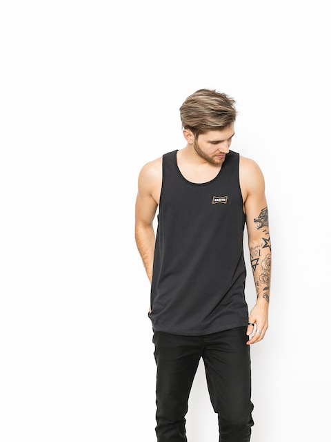 Brixton T-Shirt Missouri (washed black)