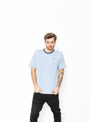 Brixton T-shirt Potrero III Prt (heather blue/washed navy)