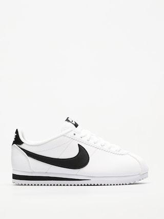 Nike Classic Cortez Leather Shoes Wmn (white/black white)