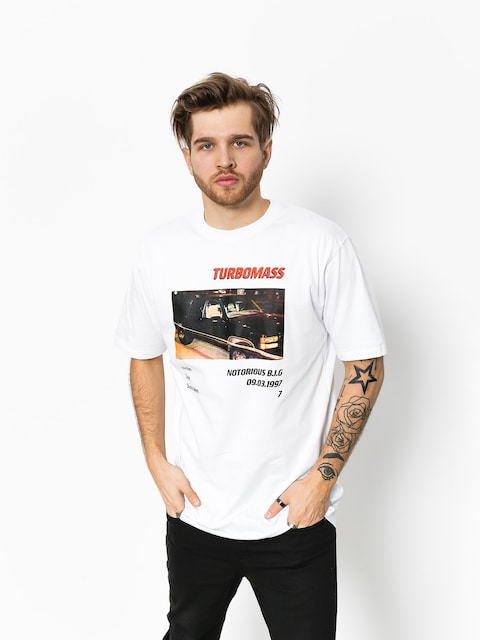 MassDnm T-Shirt Turbo Notorious (white)