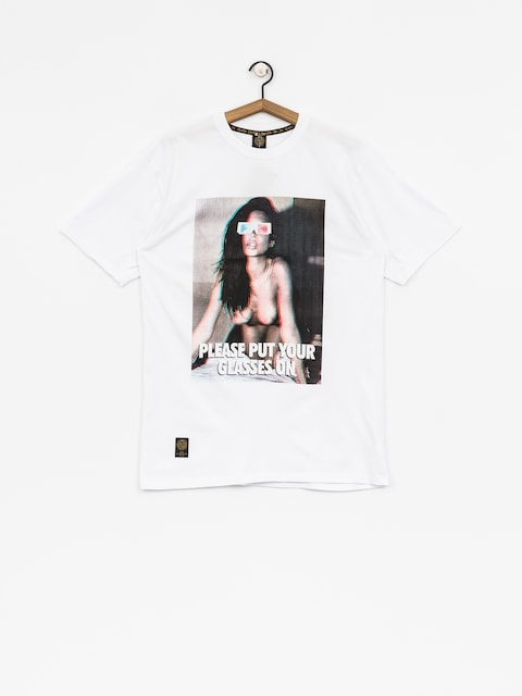 MassDnm T-shirt Glassex (white)