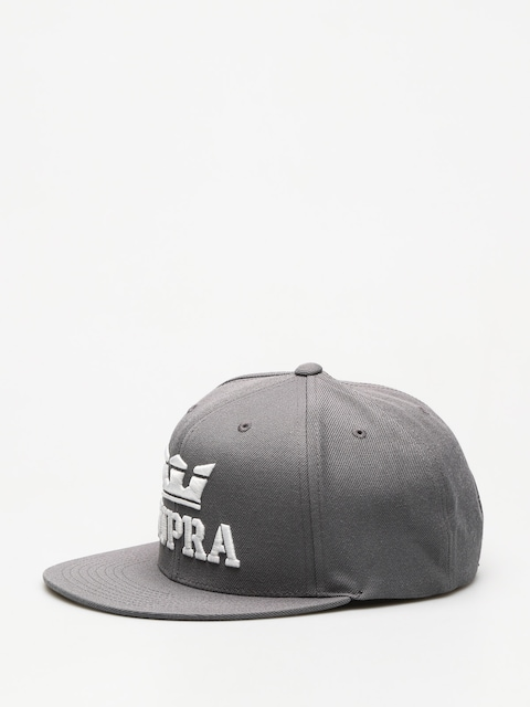 Supra Cap Above Snap ZD (charcoal/white white)