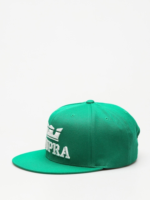 Supra Cap Above Snap ZD (green/white white)