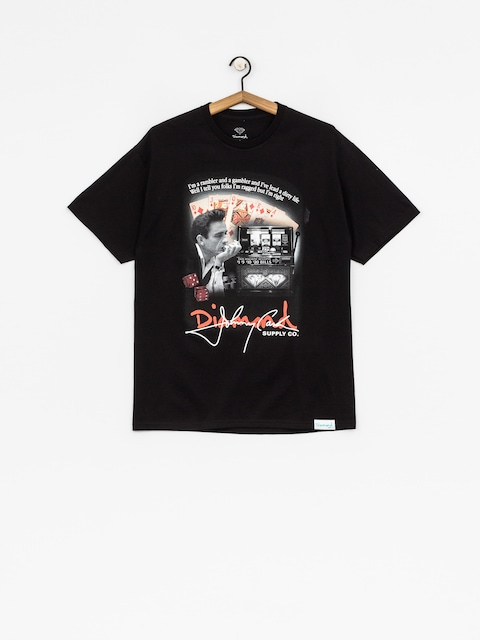 Diamond Supply Co. T-shirt Ragged (black)