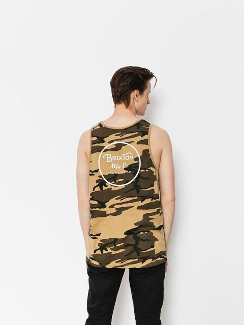 Brixton T-Shirt Wheeler (camo)