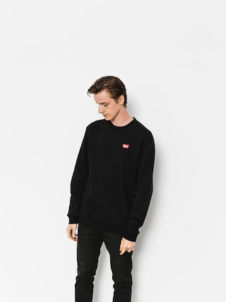 Brixton Sweatshirt Stith Wl Crew (black)