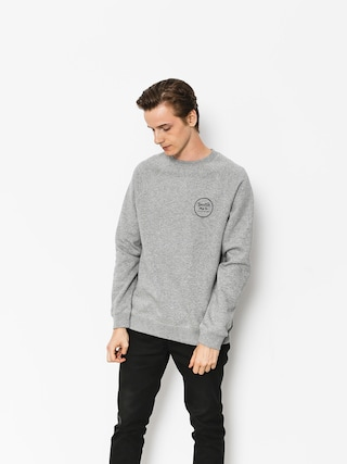Brixton Sweatshirt Wheeler III Eu Crew (heather grey)