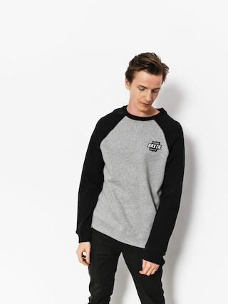 Brixton Sweatshirt Garth Intl Crew (heather grey/black)