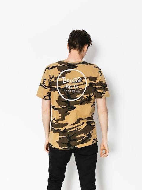 Brixton T-shirt Wheeler II Prt (camo)