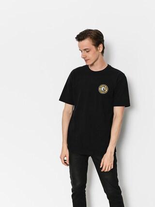 Brixton T-Shirt Rival II Stt (black/yellow)