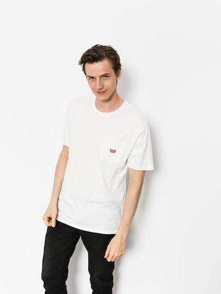 Brixton T-shirt Stith Wl Pkt (off white)