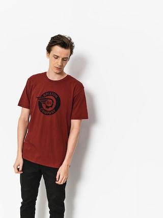 Brixton T-Shirt Mercury Prt (brick)