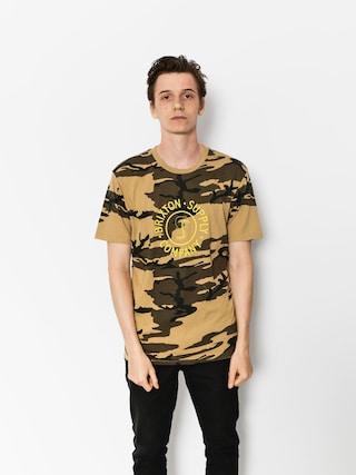 Brixton T-shirt Battalion Prt (camo)