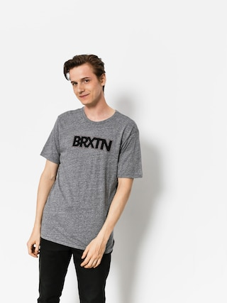 Brixton T-shirt Edison Prt (heather grey)
