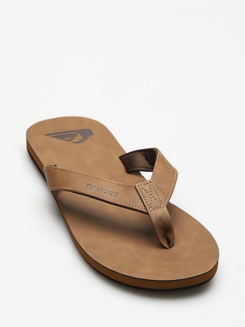 Quiksilver Flip-flops Molokai Nubuck (tan solid)