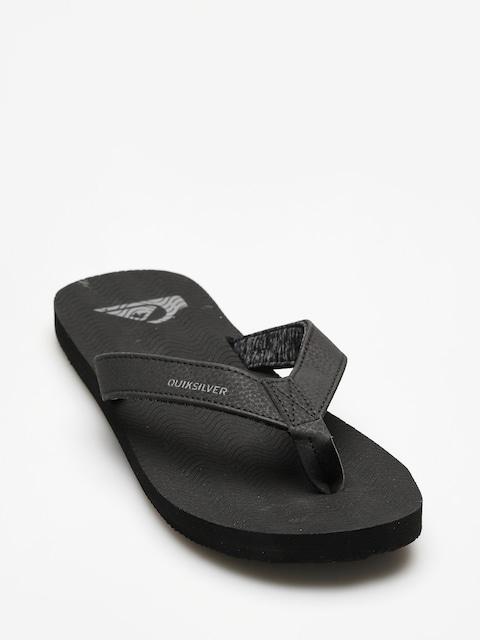 Quiksilver Flip-flops Molokai Laser Grip (solid black)