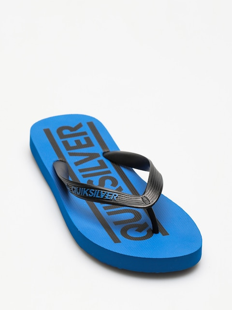 Quiksilver Flip Flops Java Wordmark (black/blue/black)