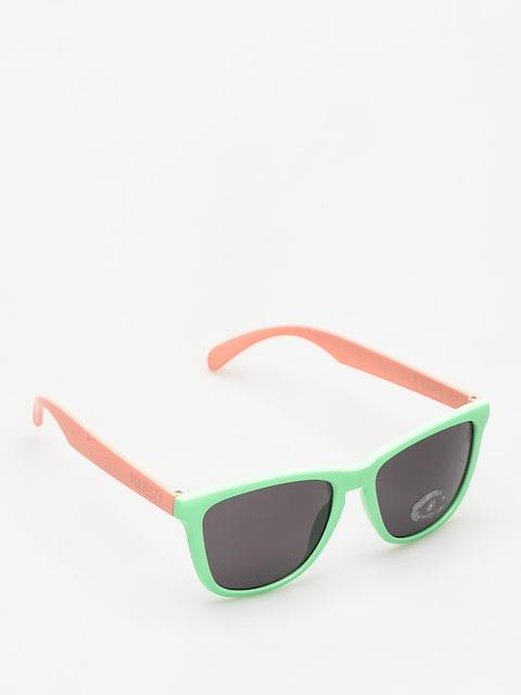 Majesty Sonnenbrille Shades M (avocado/powder pink/smoke lens)