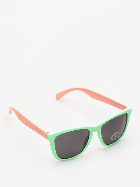 Majesty Sunglasses Shades M (avocado/powder pink/smoke lens)