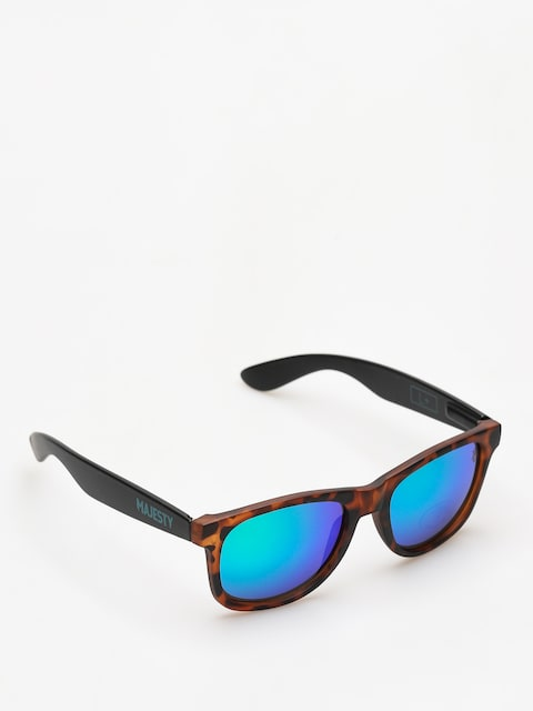 Majesty Sunglasses Shades L (tortoise/black green mirror lens)