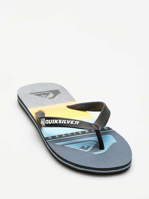Quiksilver Flip Flops Molokai Highline Slab (black/grey/blue)