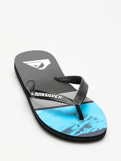 Quiksilver Flip-flops Molokai Lava Divsion (black/blue/grey)