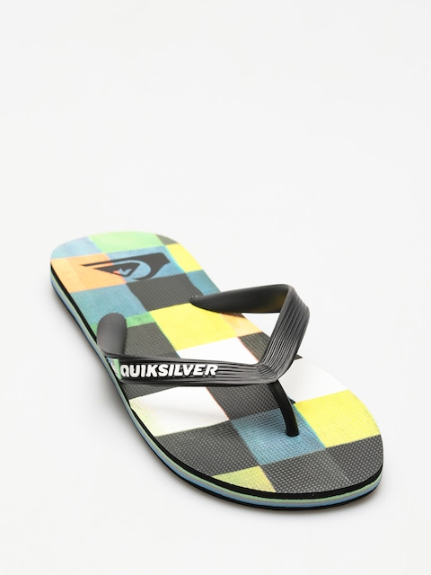 Quiksilver Flip Flops Molokai Resin Check (black/blue/green)