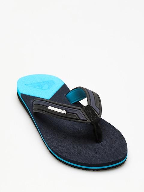 Quiksilver Flip Flops Molokai New Wav (black/blue/blue)