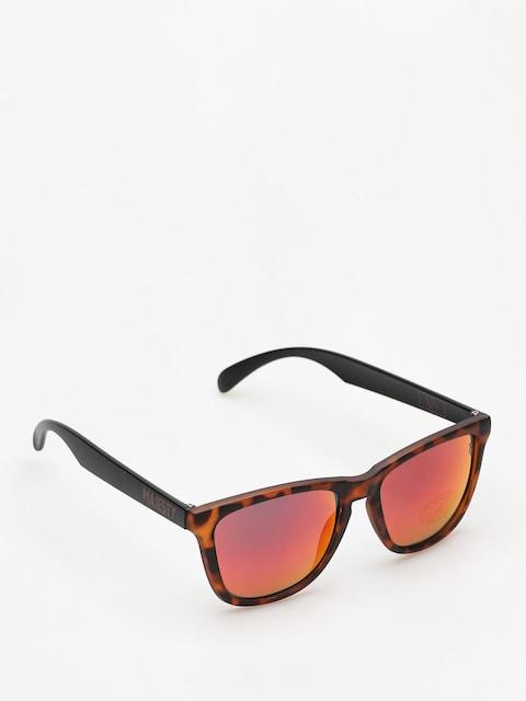 Majesty Sonnenbrille Shades M (tortoise/black red mirror lens)