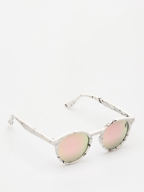 Majesty Sunglasses Lynx (marble/pink gold mirror lens)