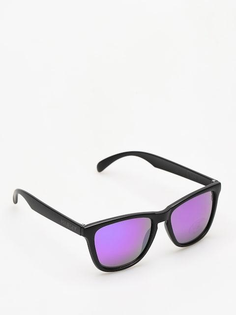 Majesty Sunglasses Shades M (black/purple mirror lens)
