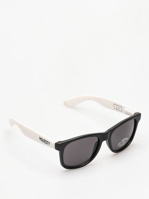 Majesty Sunglasses Shades L (black/white smoke lens)