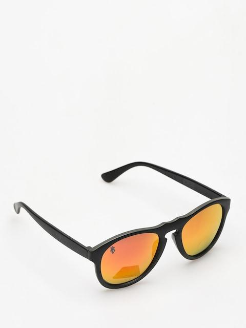 Majesty Sunglasses Crux (black/graphite red mirror lens)