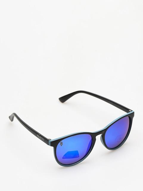 Majesty Sunglasses Rush (black/blue mirror lens)