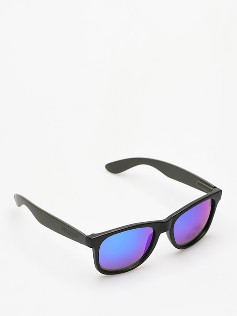 Majesty Sunglasses Shades L (black/graphite blue mirror lens)