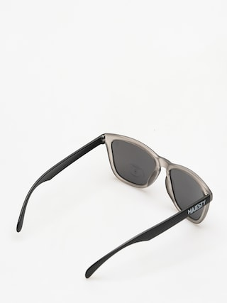 Majesty Sunglasses Frosted (Grey/Black Smoke Lens)