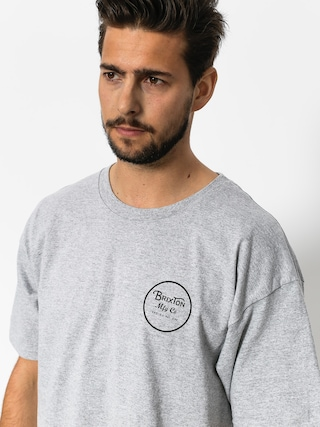 Brixton T-shirt Wheeler II Stnd (heather grey)