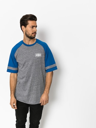 Brixton T-shirt Rockford Baseball (heather grey/royal)