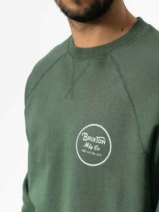 Brixton Sweatshirt Wheeler III Eu Crew (washed chive)