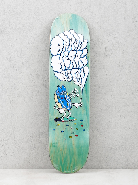 Polar Skate Deck Smoking Donut Aaron Herrington (green)