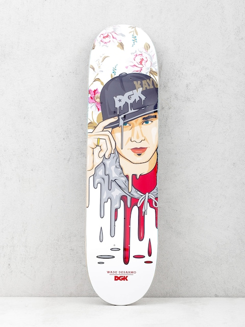 DGK Deck Desarmo Murked (white/red)