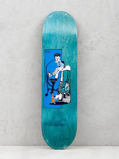 Polar Skate Deck Pizza Oven Dane Brady (green)