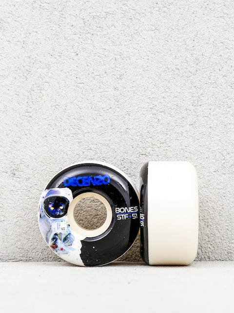 Bones Wheels Decanzo Remains Formula V2 (white/black)