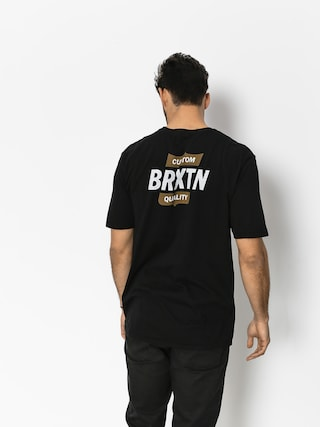 Brixton T-shirt Garth II Prt (black/gold)