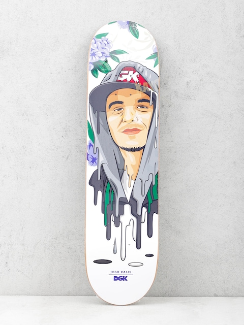 DGK Deck Kalis Murked (white/purple)