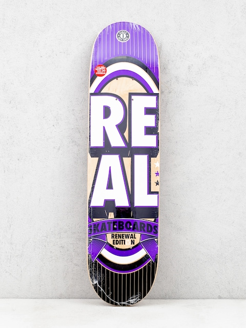 Real Deck Renewal Stacked Mini (purple/white)