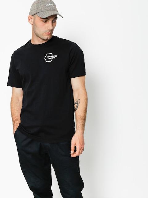 New Balance T-shirt Numeric New Hex (black)