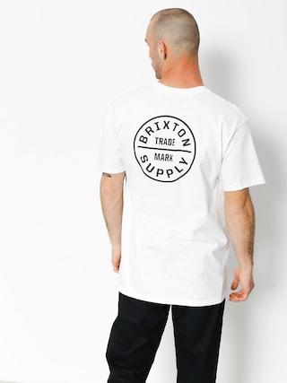 Brixton T-Shirt Oath Stt (white/black)
