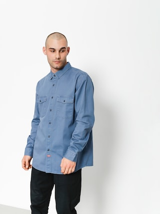 Brixton Shirt Olson Wvn (dusty blue)