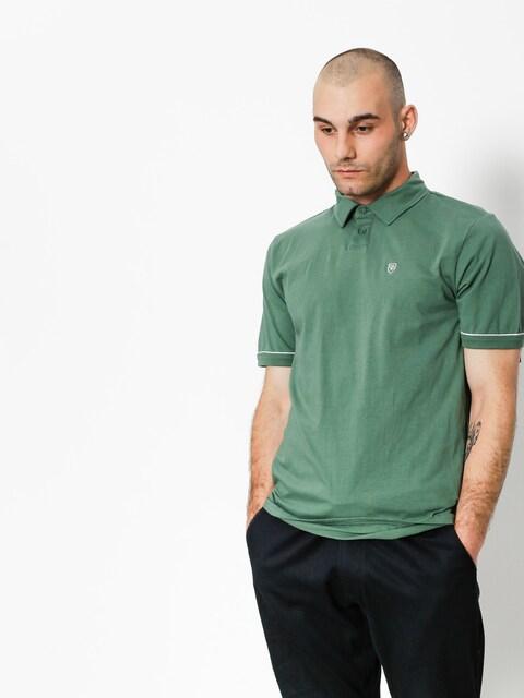 Brixton Poloshirt Carlos (washed chive)